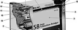 Mattenreiniger WM 520