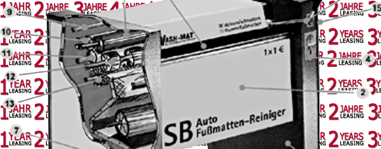 Oto Paspas Cihazı Leasing ---> Wash-Mat 520