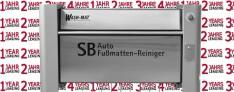 Mattenreiniger Leasing ------> Wash-Mat 529