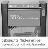 Wash-Mat 520 M standard :  voll automatic car mat cleaner